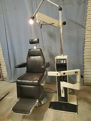 Topcon Ophthalmic Exam Chair And Reliance Stand