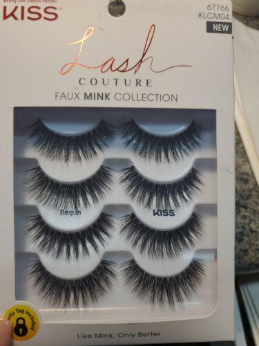 KISS LASH COUTURE FAUX MINK COLLECTION FALSE EYELASHES sequi