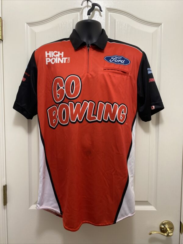 2020 Chase Briscoe Ford Go Bowling High Point Pit Crew Shirt Size Sm Shr