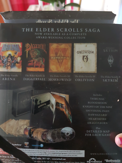 Elder scrolls saga pc