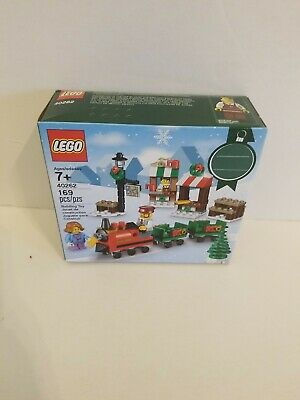 LEGO 2017 #40262 CHRISTMAS TRAIN RIDE - New & Sealed WITH 3 MINIFIGURES