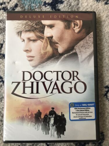 Doctor Zhivago DVD, 2011, Deluxe Edition Brand New - $10.00