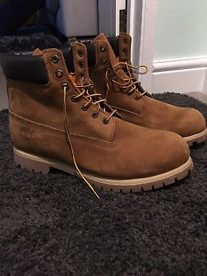 Mens Timberland Boots Size 14