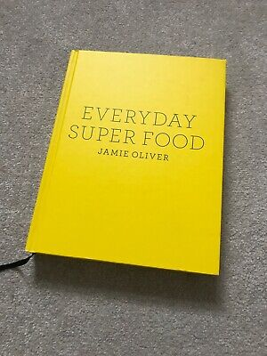 Jamie Oliver Hardback Cookbook. Everyday Super Food.