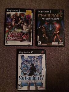 3 Hard To Find PlayStation 2 Games