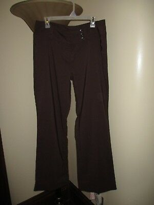 Size 15 Miss 16 Women's brown dress pants, Flare leg (Missy Flare Leg Pant)