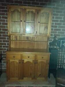 Attractive Pine dresser cabinet Eastwood Ryde Area Preview