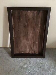 Shadow box for jersey or coat