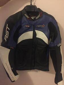 RTS Racing Leather Motorbike Jacket Coolbellup Cockburn Area Preview