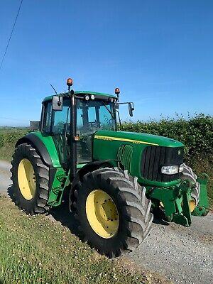 John Deere 6920 Front links and pto 2003 Tractor 4x4 Power Quad TLS Front suspen