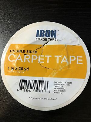 Double Sided Carpet Tape - 1 In X 20 Yards