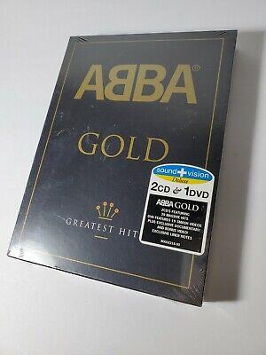 Gold - Greatest Hits - Abba - 2 CD / 1 DVD Set