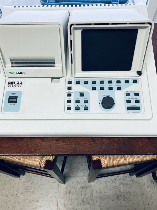 Grason-Stadler GSI 33 Middle Ear Analyzer Model 1733 (23160 A24)