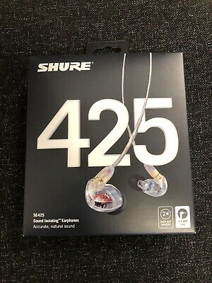 Shure SE425 Sound Isolating Earphones Brand New PRICE DROP