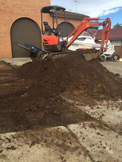 Earth moving and soil removal