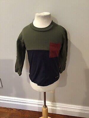 Finger In The Nose Color Block Tee Shirt 2/3 Nwt