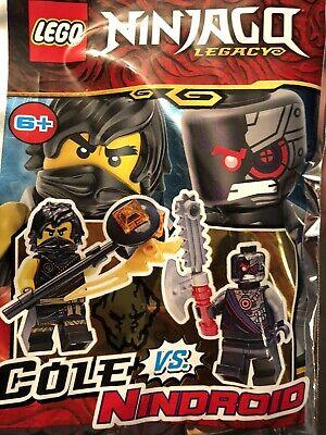 Lego Ninjago Legacy Cole vs Nindroid Mini Figures Polybag