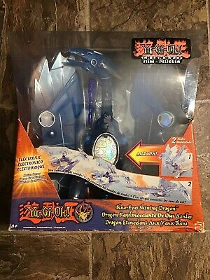 2004 Mattel Blue-Eyes Shining Dragon Figure new in the factory sealed