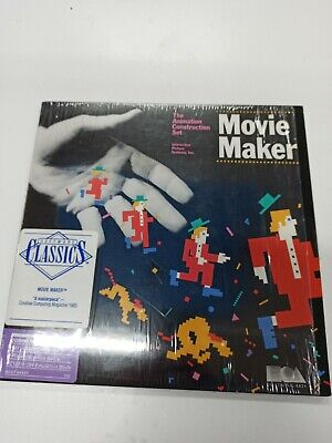 Movie Maker The Animation Construction Set Commodore 64 Electronic Arts WORKING