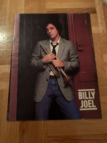 Billy Joel & His Band On Tour - 52nd Street Tour Program, 1978 - Concert Booklet