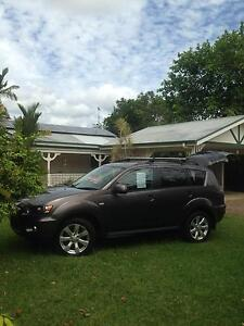 2010 Mitsubishi Outlander Wagon Freshwater Cairns City Preview