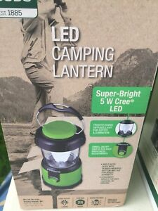 Camping Equipment - Tent and Lantern