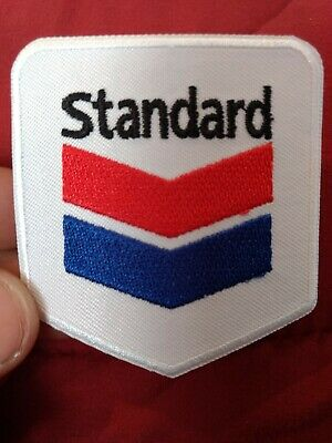 CHEVRON OIL UNIFORM EMBROIDERED PATCH NEW GAS FUEL STATION ADVERTISING