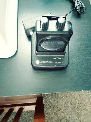Motorola Minitor V 5 Vhf Band Pager 159-166.9975 2 Tone Voice Voice Pagers.