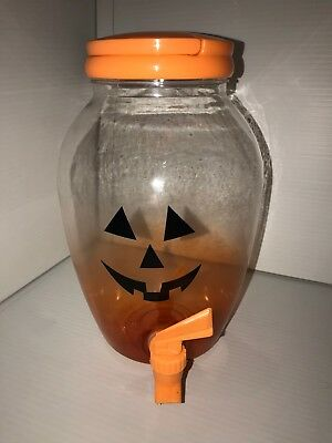 Halloween Beverage Dispenser (Halloween Pumpkin Cold Beverage Dispenser (Plastic))