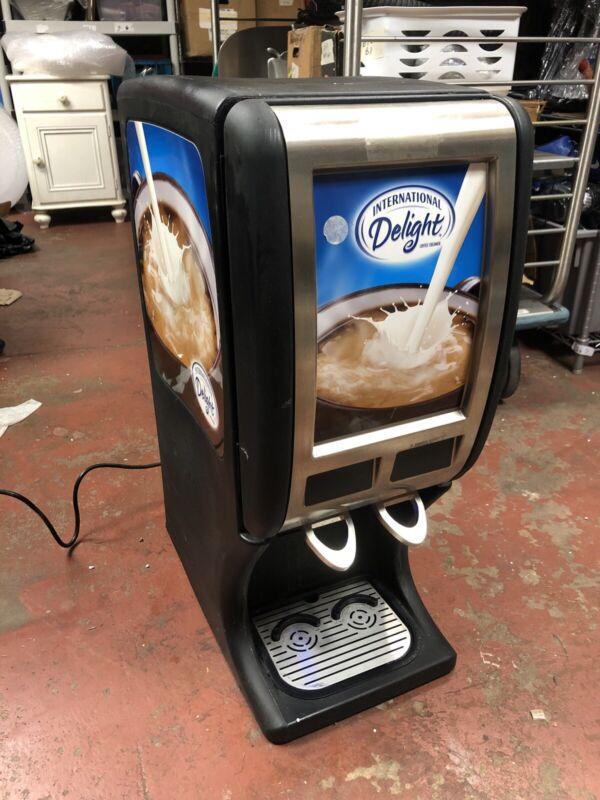 International Delight Bulk Coffee Creamer Creaming Dispenser Machine