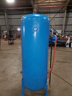 Roy E Hanson 240 Gallon Vertical Compressed Air Receiver Storage Tank 200 Psi