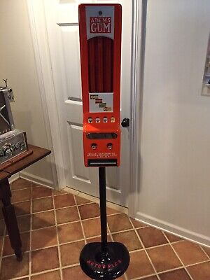 Mills Automatic Adams Gum Machine With NOS Lock And Key Stand Not Included