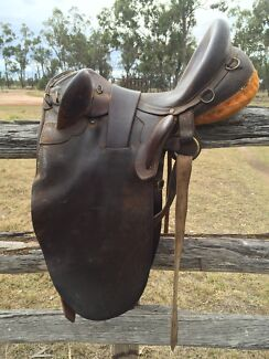 Hills stock saddle Cecil Plains Toowoomba Surrounds Preview