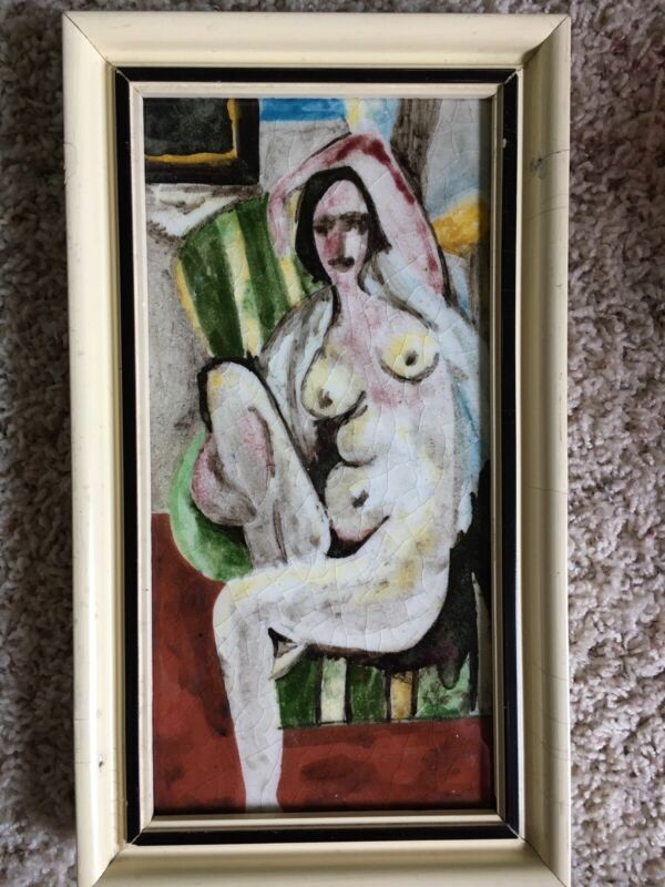 Tile Of Nude Lady