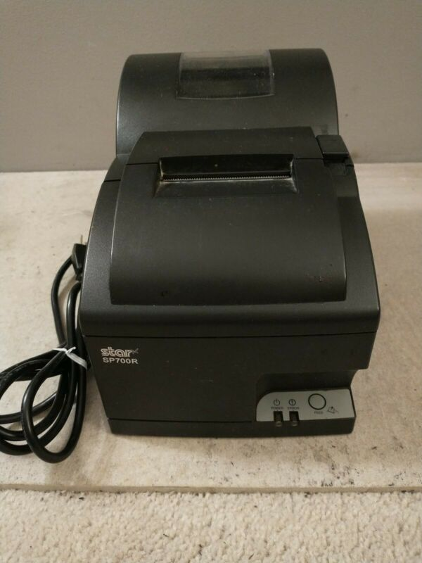Star SP700R POS Receipt Dot Matrix Printer w/ Ethernet & Power Cord