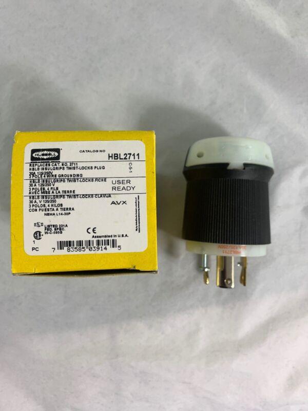 NEW Hubbell Twist Lock Plug HBL2711