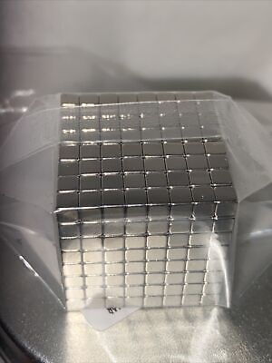 Magnetic Cube 512 Pc 3mm Each New