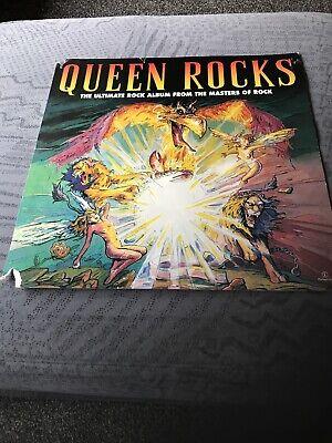 Very RARE QUEEN Rocks/ FREDDIE MERCURY PROMO CARD.