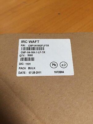 Irc Waft Cmf141002flftr Metal Film Resistors 14w 10k Ohm 1 5000pcs 1 Lot