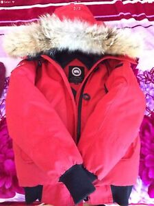 Manteau Canada goose rouge small