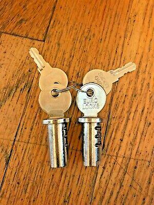 Lot Of 2 New Lock Keys For Northwestern Oak Eagle Gumball Vending Machine