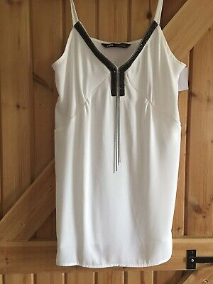 ZARA Top Sleeveless Blouse NEW Size XS 8