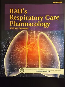 Rau's Respiratory Care Pharmacology- 9th Edition