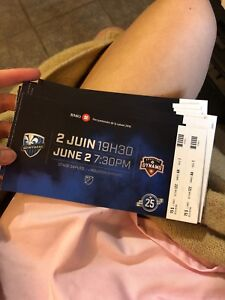 Billets Soccer Montreal Impact vs Houston Dynamo