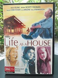 DVD - Life as a House - Like New Condition Balwyn Boroondara Area Preview
