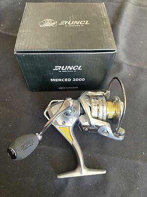 RUNCL Spinning Fishing Reel Merced 2000, Spinning Reel - 10+1 HPCR Ball Bearings