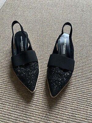 kennel schmenger Size 5 Black Summer Sparkly Flat Shoes.