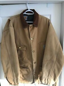 Carhartt duck coat