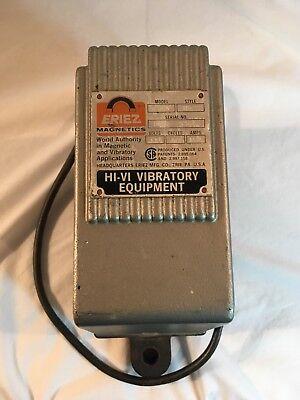 Eriez Electromagnetic Vibrator Model 30n Style 26 Hi-vi 115v-ac 60 Cyles 1.2 Amp