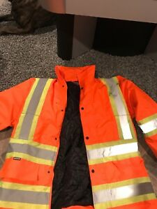 Men work coat